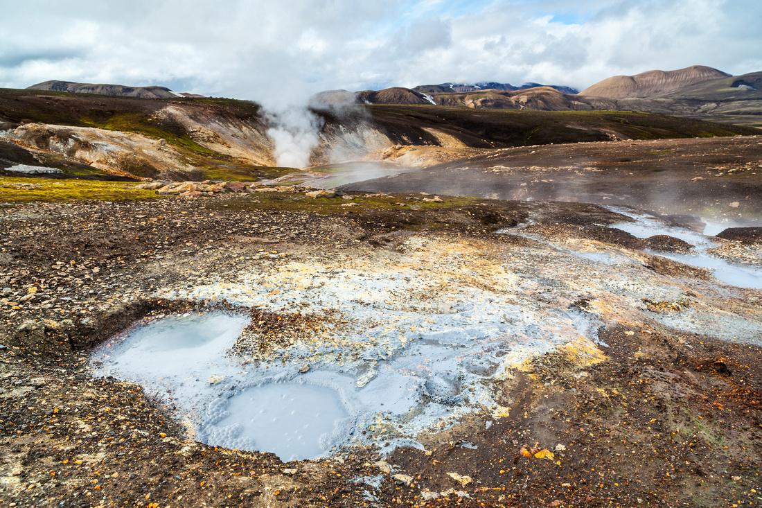 Reykjadalir geothermal