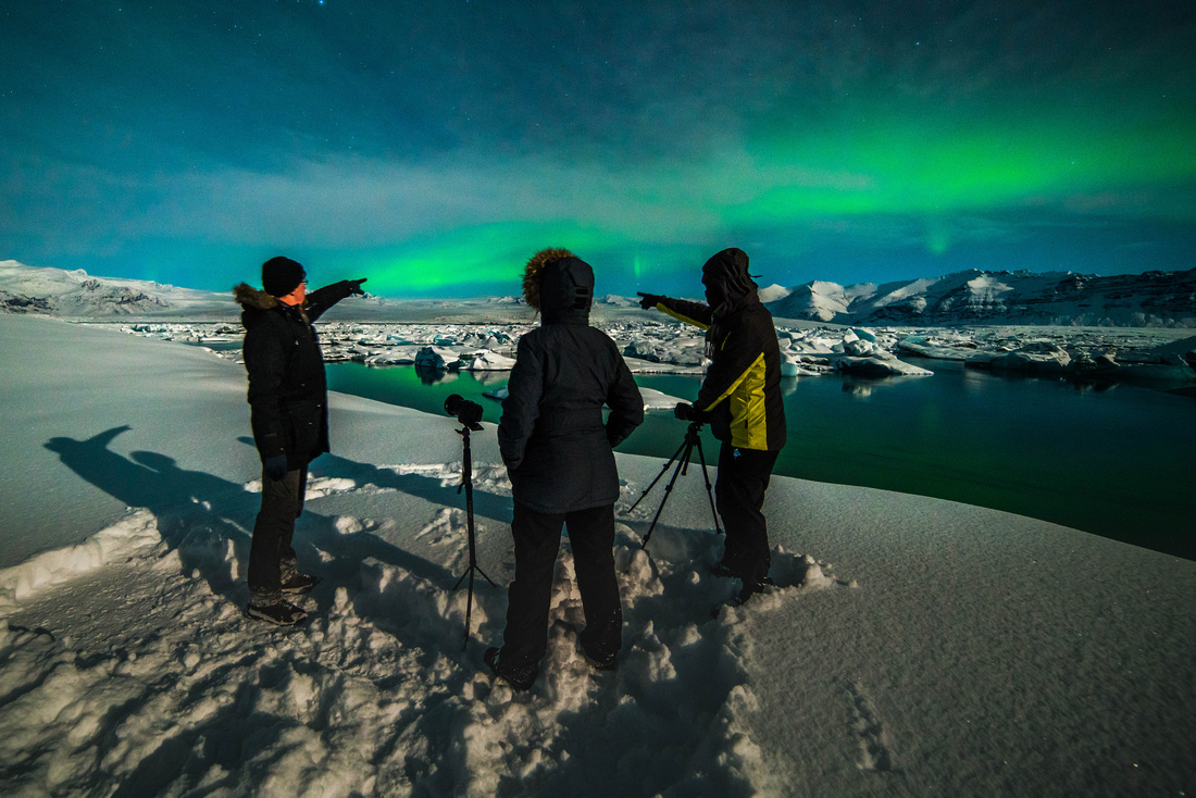 Finding the Northern lights