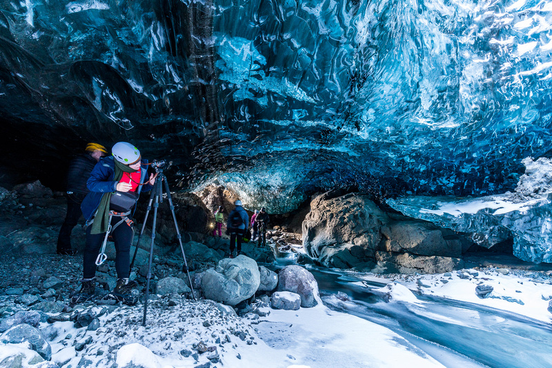 Ice cave photography