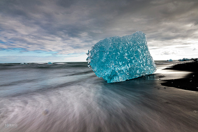 Jökulsárlón - The Glacial Lagoon.