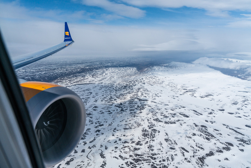 Iceland by air.